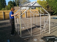 Second Hand Greenhouses Available